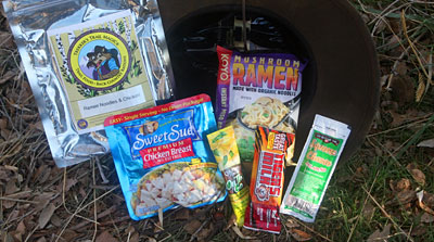 Coyote Camp Trekker Noodles & Chicken Dinner